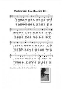 Das Emmaus-Lied (2011)