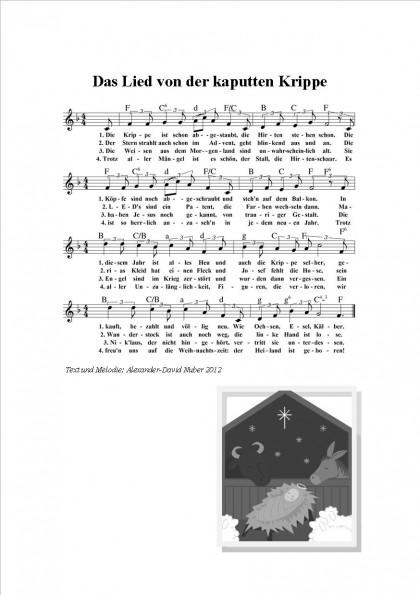 Das Lied von der kaputten Krippe