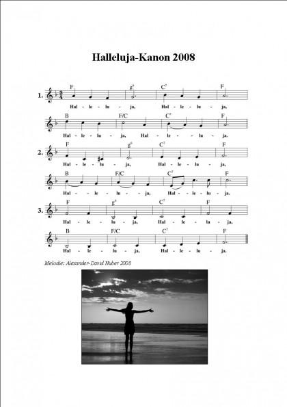 Halleluja (Kanon) 2008