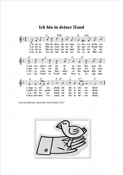 Ich bin in deiner Hand