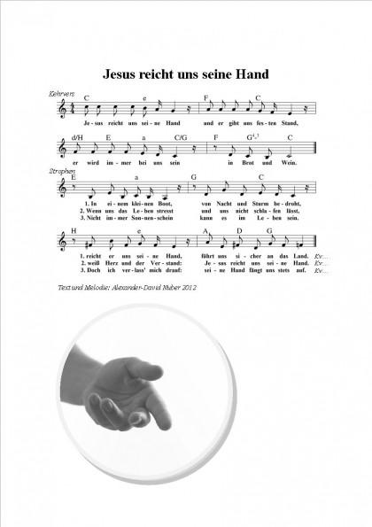 Jesus reicht uns seine Hand
