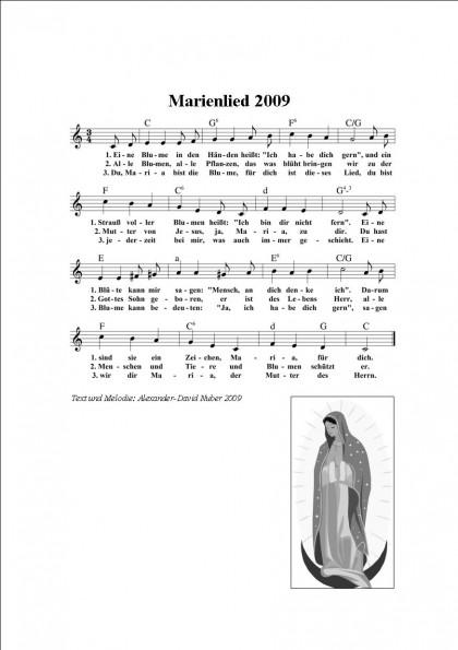 Marienlied 2009