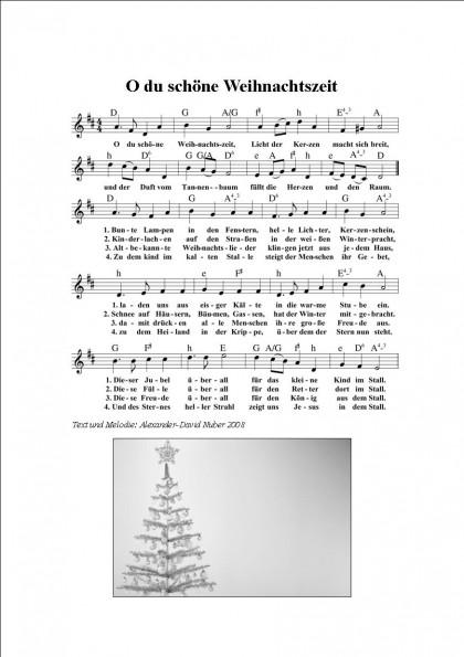 O du schöne Weihnachtszeit