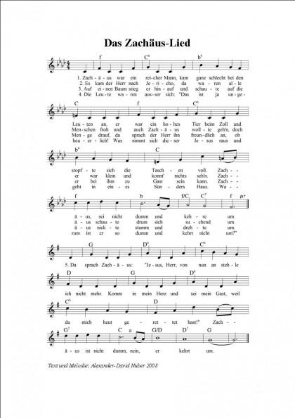 Das Zachäus-Lied